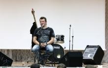 Андрей Князев в детском рок-лагере «Мыс Рока»